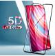 10238 - 5D стъклен протектор за Xiaomi Redmi Note 8 Pro