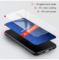 10467 - NXE Sky Glass стъклен калъф за Xiaomi Redmi Note 8 Pro