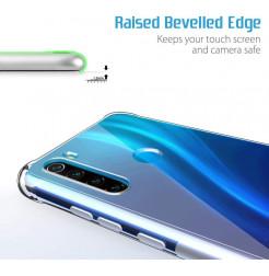 10611 - MadPhone удароустойчив силиконов калъф за Xiaomi Redmi Note 8