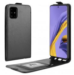 1062 - MadPhone Flip кожен калъф за Samsung Galaxy A51