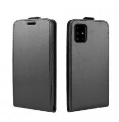 1065 - MadPhone Flip кожен калъф за Samsung Galaxy A51