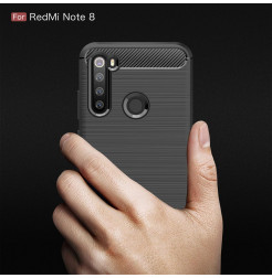 10679 - MadPhone Carbon силиконов кейс за Xiaomi Redmi Note 8