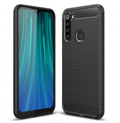 10681 - MadPhone Carbon силиконов кейс за Xiaomi Redmi Note 8