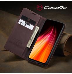 10760 - CaseMe премиум кожен калъф за Xiaomi Redmi Note 8
