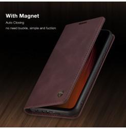 10762 - CaseMe премиум кожен калъф за Xiaomi Redmi Note 8