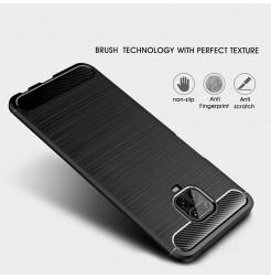 10812 - MadPhone Carbon силиконов кейс за Xiaomi Redmi Note 9S / 9 Pro / Max