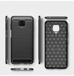 10817 - MadPhone Carbon силиконов кейс за Xiaomi Redmi Note 9S / 9 Pro / Max