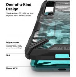 11002 - Ringke Fusion X хибриден кейс за Xiaomi Mi 10 / Mi 10 Pro