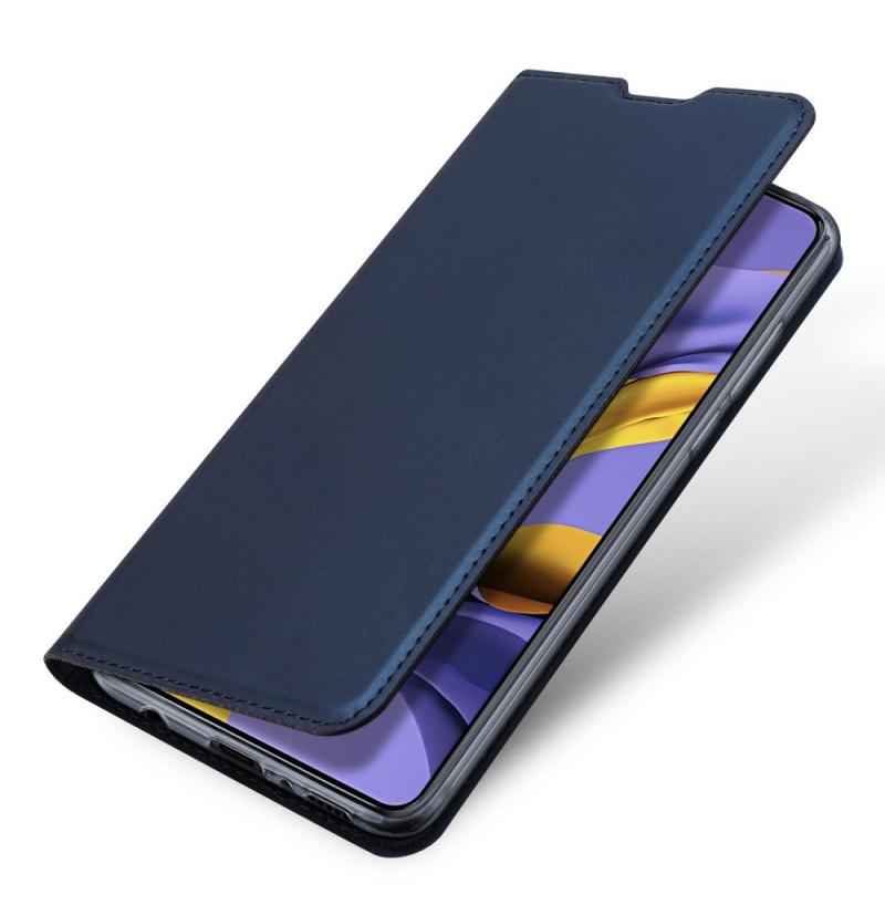 1112 - Dux Ducis Skin кожен калъф за Samsung Galaxy A51