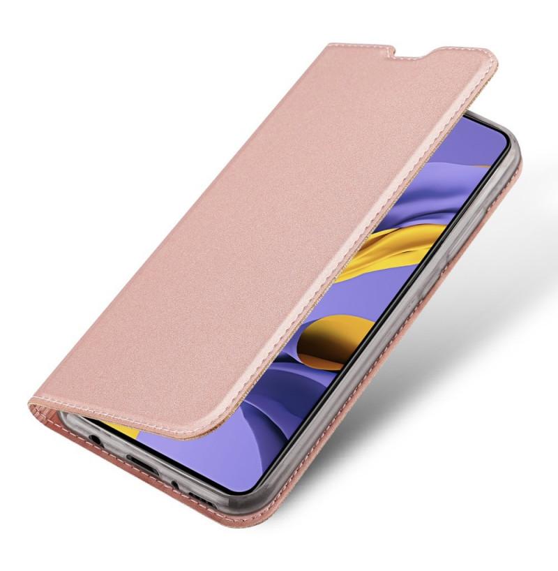 1124 - Dux Ducis Skin кожен калъф за Samsung Galaxy A51