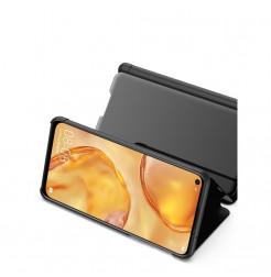 11296 - MadPhone ClearView калъф тефтер за Huawei P40 Lite