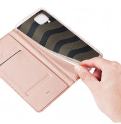 11329 - Dux Ducis Skin кожен калъф за Huawei P40 Lite