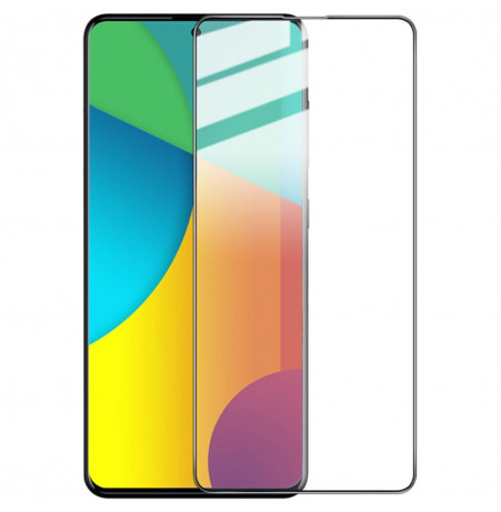 1134 - 3D стъклен протектор за целия дисплей Samsung Galaxy A71