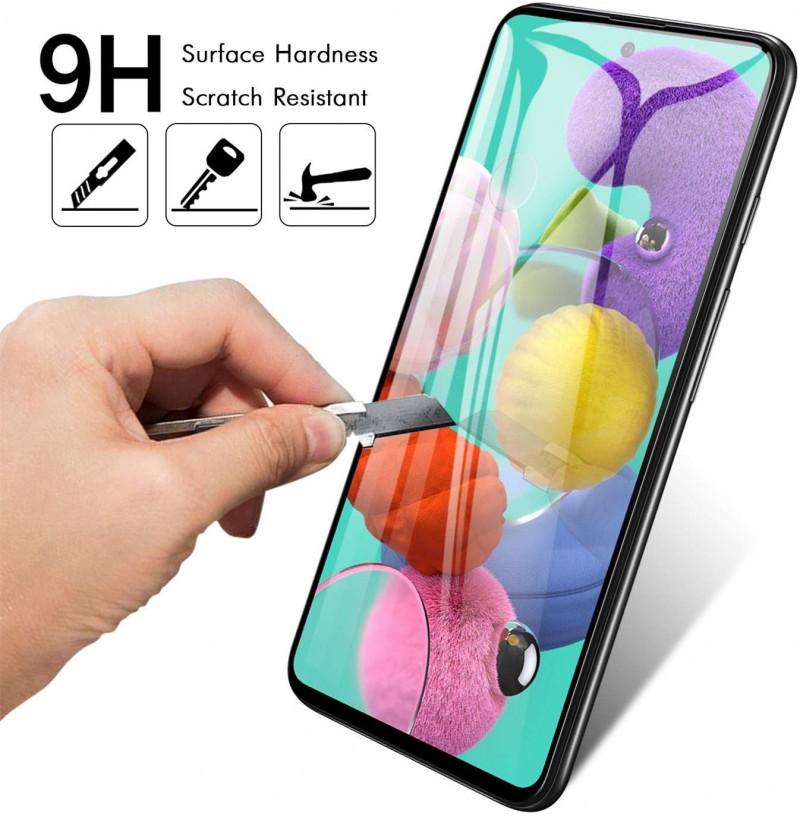 1136 - 5D стъклен протектор за Samsung Galaxy A71