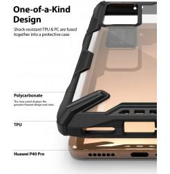 11366 - Ringke Fusion X хибриден кейс за Huawei P40 Pro