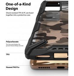 11377 - Ringke Fusion X хибриден кейс за Huawei P40 Pro