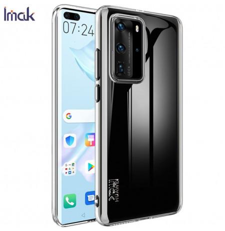 11402 - IMAK UX6 прозрачен силиконов кейс за Huawei P40 Pro