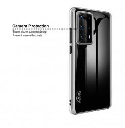 11406 - IMAK UX6 прозрачен силиконов кейс за Huawei P40 Pro