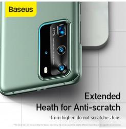 11450 - Baseus Matte Shield твърд кейс за Huawei P40 Pro