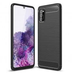 11504 - MadPhone Carbon силиконов кейс за Samsung Galaxy A41