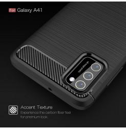 11505 - MadPhone Carbon силиконов кейс за Samsung Galaxy A41