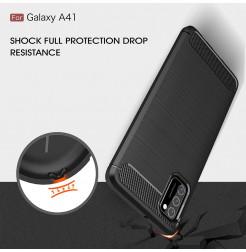 11506 - MadPhone Carbon силиконов кейс за Samsung Galaxy A41