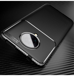 11549 - iPaky Carbon силиконов кейс калъф за Xiaomi Poco F2 Pro