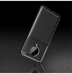 11553 - iPaky Carbon силиконов кейс калъф за Xiaomi Poco F2 Pro