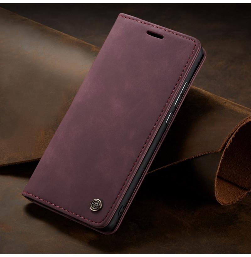 11599 - CaseMe премиум кожен калъф за Xiaomi Poco F2 Pro