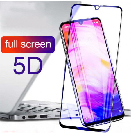 11627 - 5D стъклен протектор за Xiaomi Redmi Note 7 / Note 7 Pro