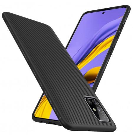 1163 - MadPhone релефен TPU калъф за Samsung Galaxy A71