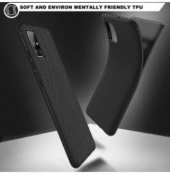1164 - MadPhone релефен TPU калъф за Samsung Galaxy A71