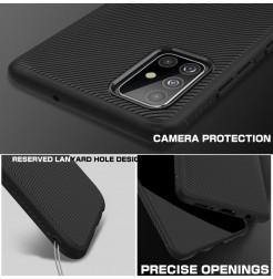 1165 - MadPhone релефен TPU калъф за Samsung Galaxy A71