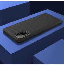 1168 - MadPhone релефен TPU калъф за Samsung Galaxy A71