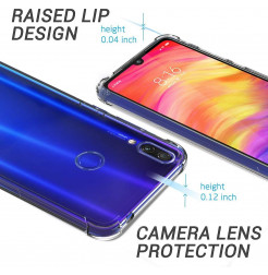 11682 - MadPhone удароустойчив силиконов калъф за Xiaomi Redmi Note 7 / Note 7 Pro