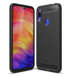 11727 - MadPhone Carbon силиконов кейс за Xiaomi Redmi Note 7 / Note 7 Pro