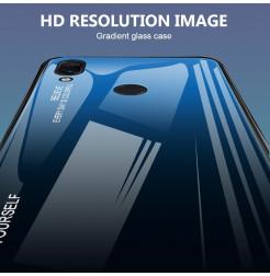 11759 - NXE Sky Glass стъклен калъф за Xiaomi Redmi Note 7 / Note 7 Pro