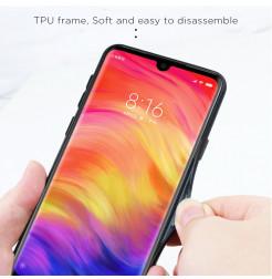 11767 - NXE Sky Glass стъклен калъф за Xiaomi Redmi Note 7 / Note 7 Pro