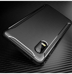 12034 - iPaky Carbon силиконов кейс калъф за Samsung Galaxy Xcover Pro
