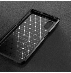 12037 - iPaky Carbon силиконов кейс калъф за Samsung Galaxy Xcover Pro