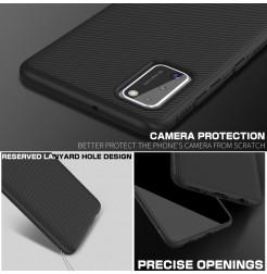 12074 - MadPhone релефен TPU калъф за Samsung Galaxy A41