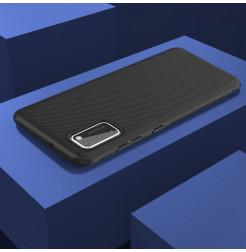 12077 - MadPhone релефен TPU калъф за Samsung Galaxy A41