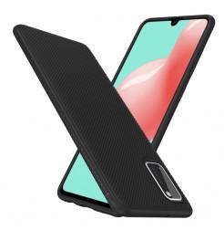 12079 - MadPhone релефен TPU калъф за Samsung Galaxy A41