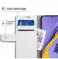 1208 - MadPhone кожен калъф за Samsung Galaxy A71
