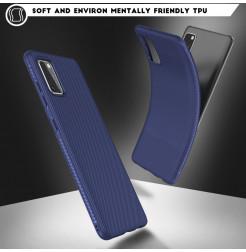 12087 - MadPhone релефен TPU калъф за Samsung Galaxy A41
