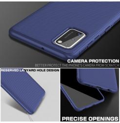 12088 - MadPhone релефен TPU калъф за Samsung Galaxy A41