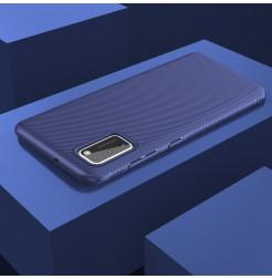 12090 - MadPhone релефен TPU калъф за Samsung Galaxy A41