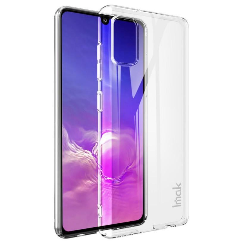 12097 - IMAK Crystal Case тънък твърд гръб за Samsung Galaxy A41