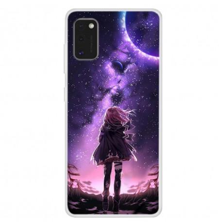 12106 - MadPhone Art силиконов кейс с картинки за Samsung Galaxy A41