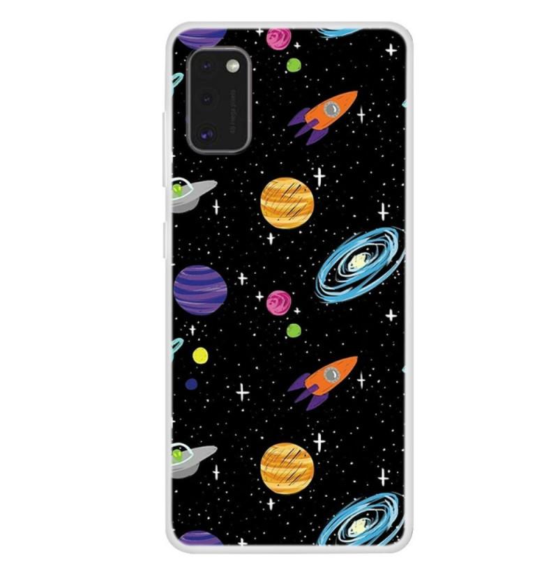 12112 - MadPhone Art силиконов кейс с картинки за Samsung Galaxy A41